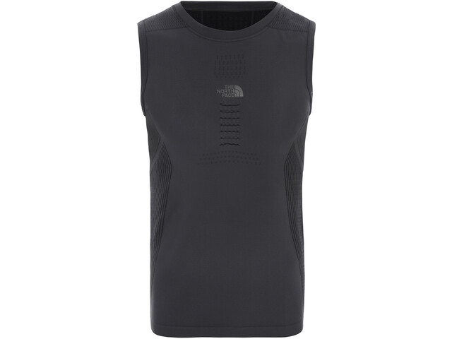 The North Face Active S/L Crew Neck Shirt Men asphalt grey/tnf black